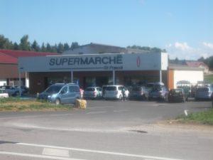 Supermarché Doucier