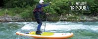Paddle avec Nature Trip Jura